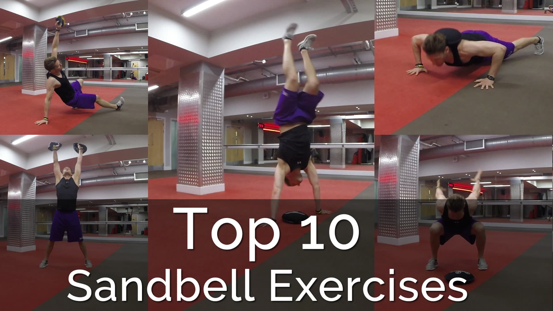 Top 10 Sandbell Exercises | Three Dimensional (3D) Training