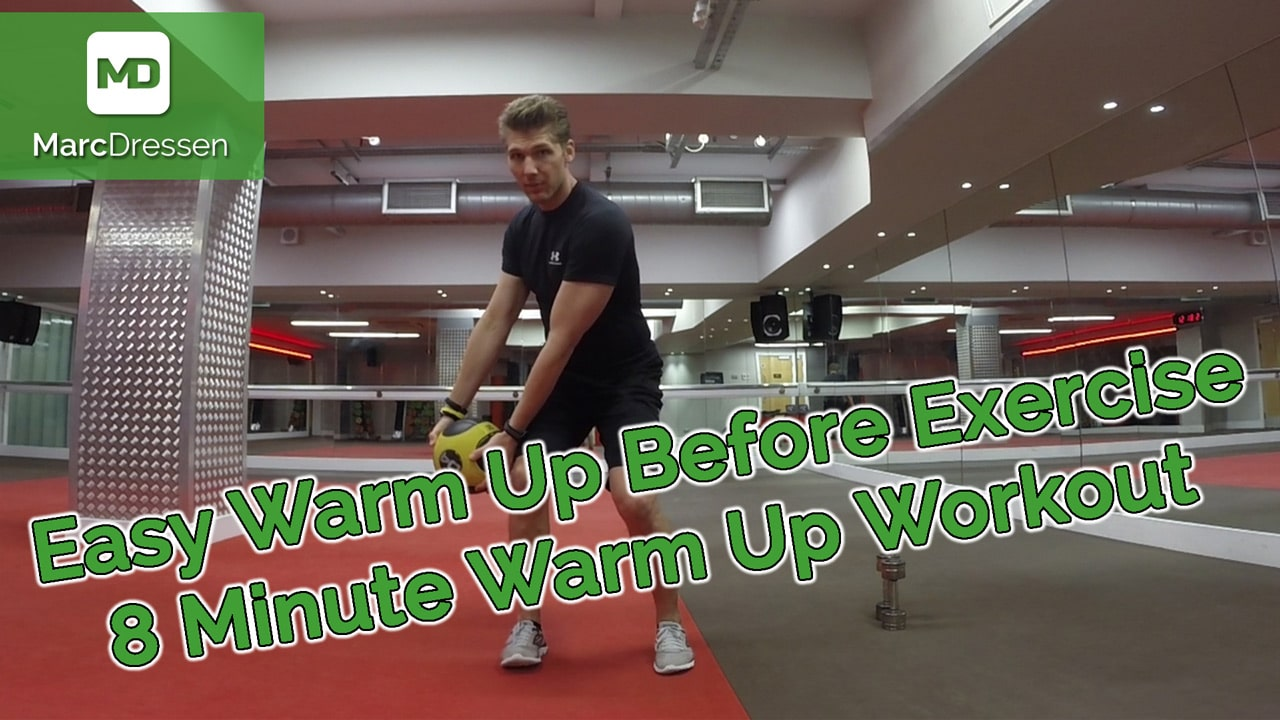 Easy Warm Up Before Exercise – 8 Minute Warm Up Workout