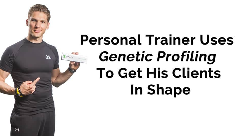 Personal Trainer Uses Genetic Profiling To Get His Clients In Shape