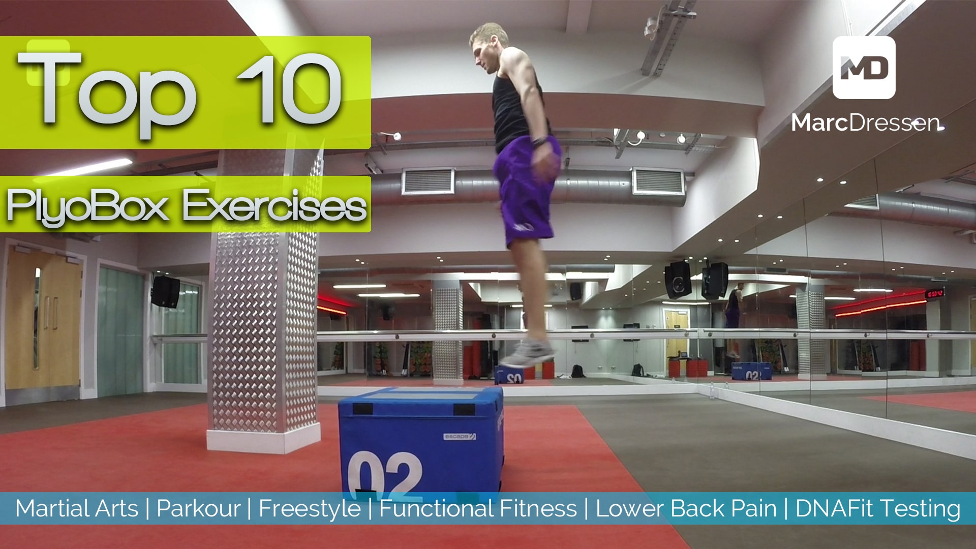 Top 10 Plyo Box Exercises