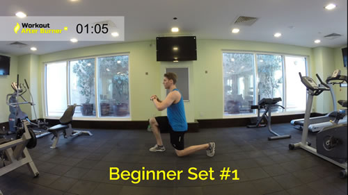 Workout After Burner – Beginner Set #1