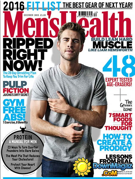 Men's Health – November 2015 | 5 CHEST EXERCISES YOU'RE NOT DOING, BUT SHOULD BE