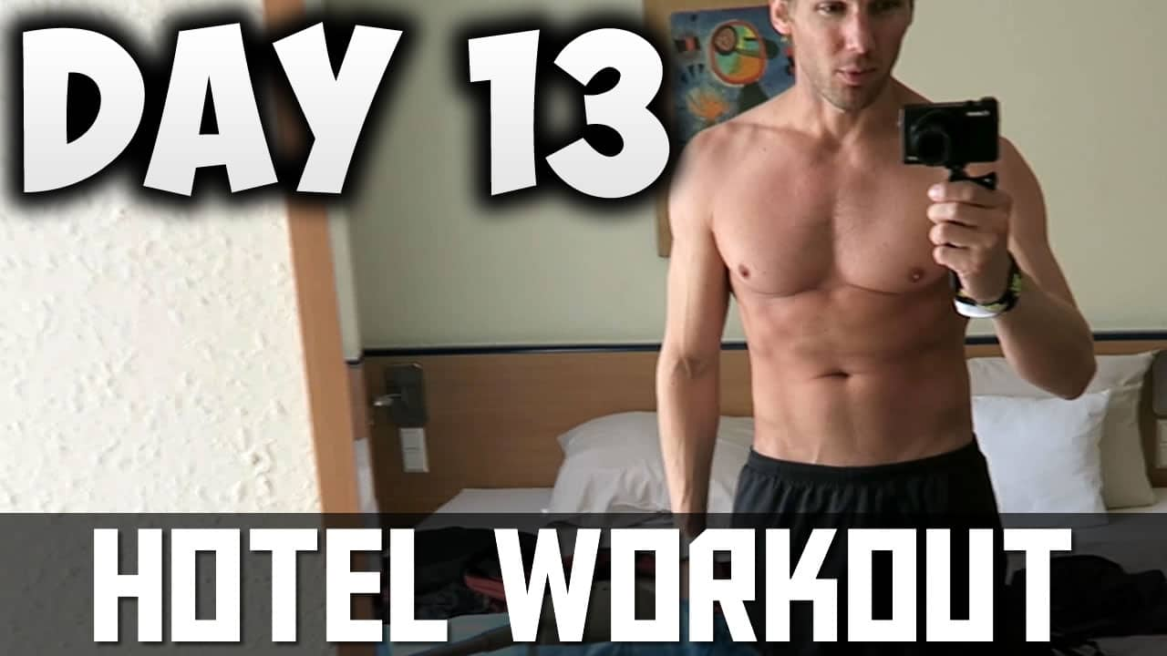 [Day13] – 30 DAY FITNESS CHALLENGE… Can Tall Guys Build Muscle? – Hotel Gym Workout Routine