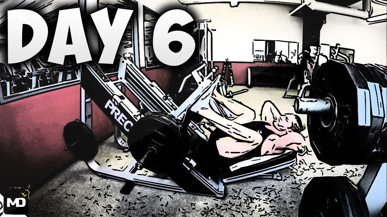 [Day6] – 30 DAY FITNESS CHALLENGE… Killed My Legs Today 💪