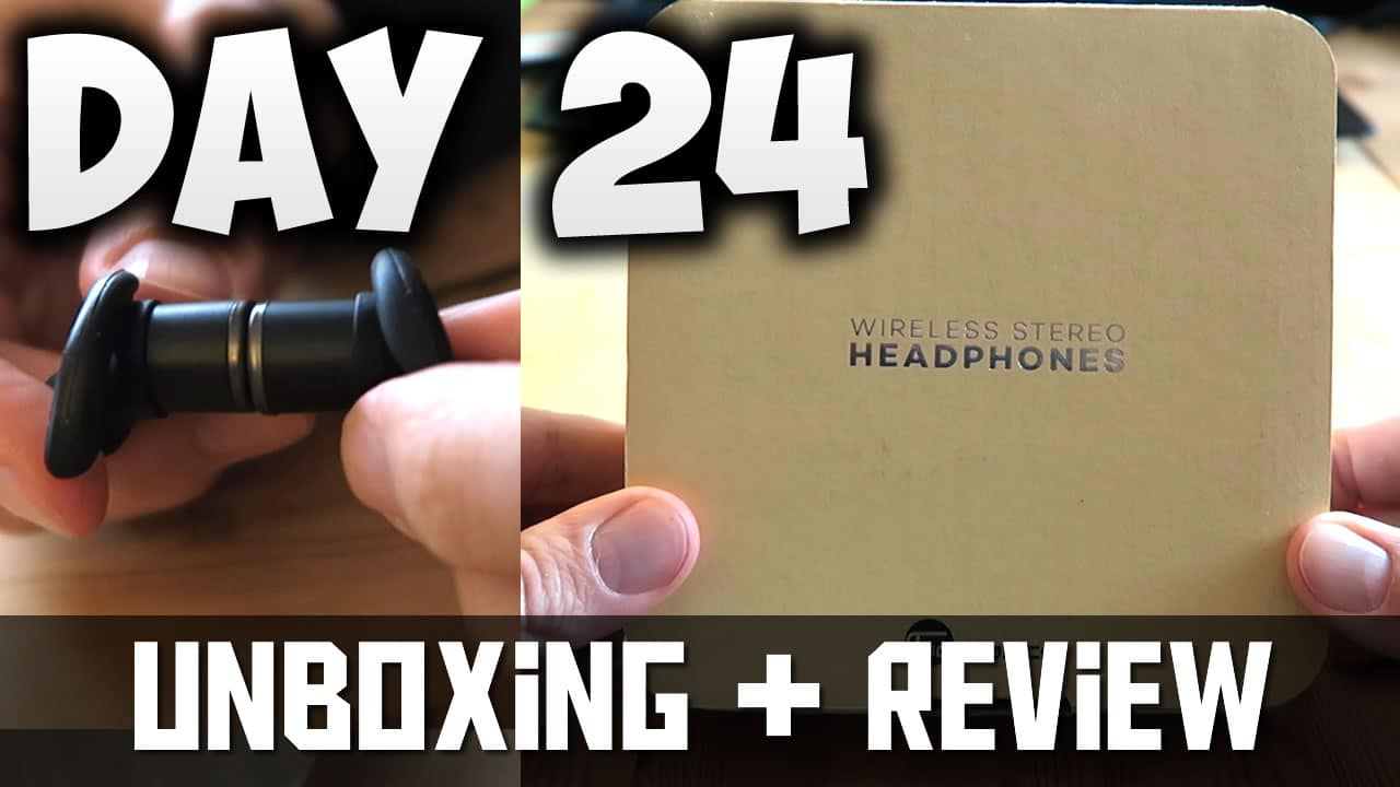 [Day24] – 30 DAY FITNESS CHALLENGE… Bluetooth Wireless Headphones UNBOXING! – My Coffee HACK 😄